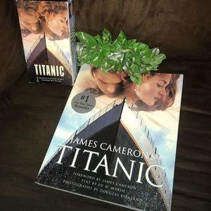 Other - TITANIC 1st Edt Paperback & VHS Box Set